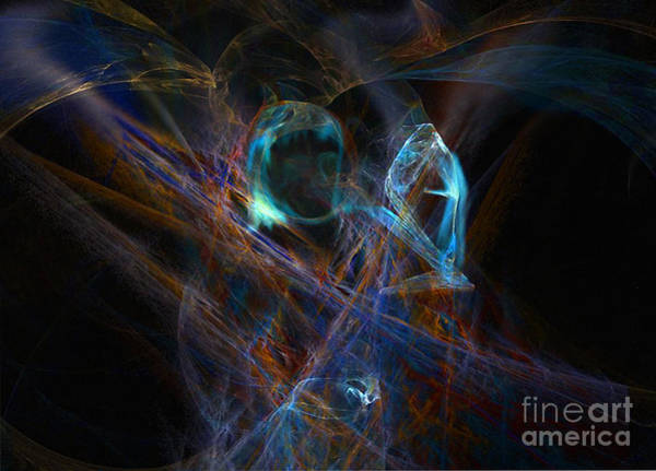 Digital Art - The Ghost Of Ancient Times by Lance Sheridan-Peel
