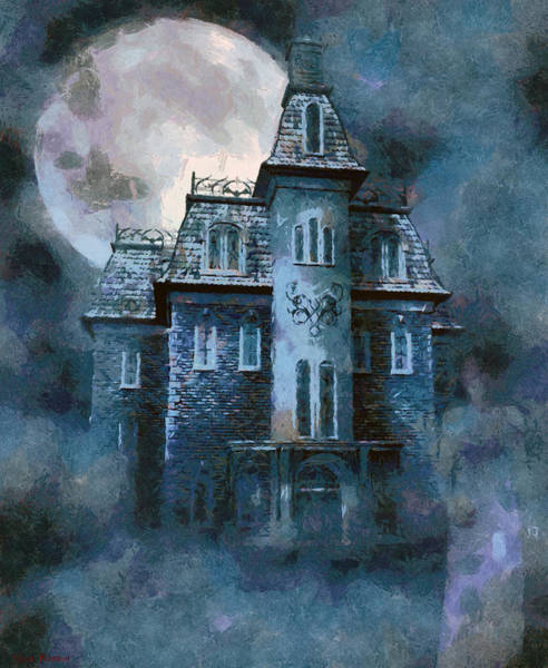 Mixed Media - The Ghost Of Little Mary by Tyler Robbins