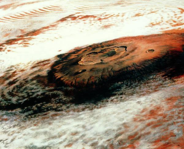The Giant Martian Volcano Olympus Mons Art Print