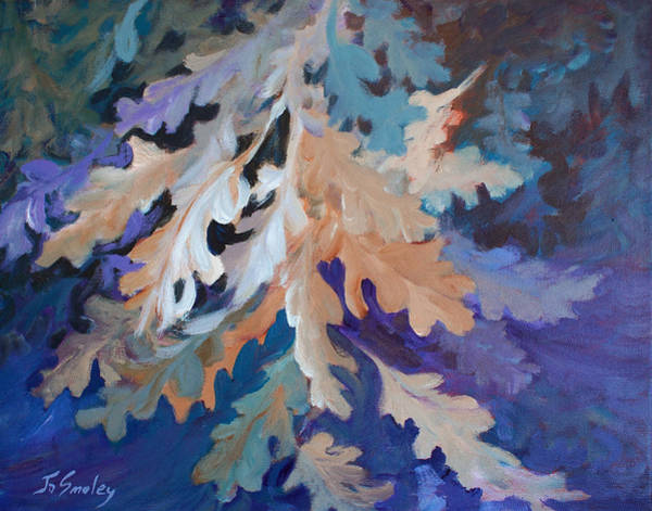 Painting - The Giant Oak by Joanne Smoley