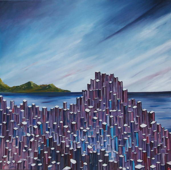 Painting - The Giant's Causeway by Conor Murphy