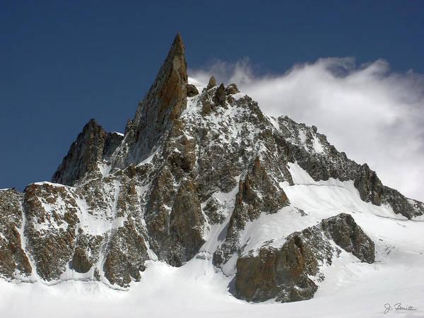 Mont Blanc Wall Art - Photograph - The Giant's Tooth by Joe Bonita