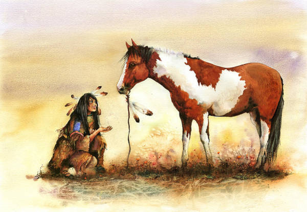 Painting - The Gift by Peter Williams