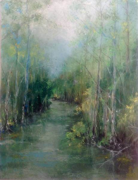 River Runs Deep Series #3 Art Print