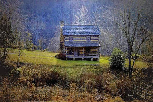 Photograph - The Gladie Cabin  by Jack R Perry