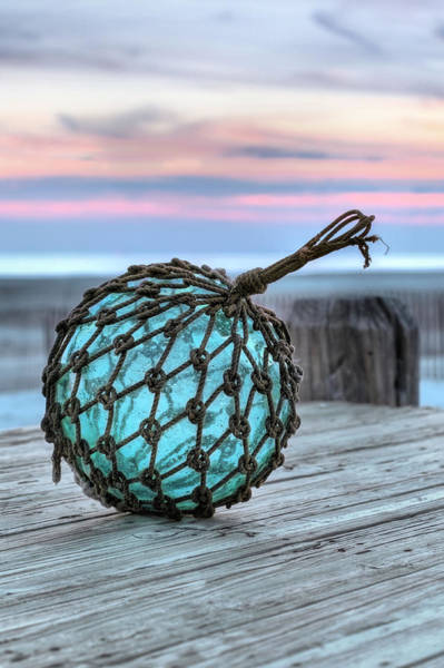 Wrightsville Beach Wall Art - Photograph - The Glass Fishing Float by JC Findley