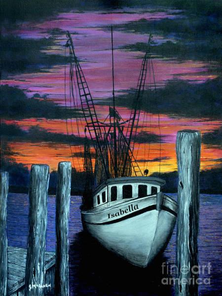 Hilton Head Island Painting - The Gloaming by Jeff McJunkin