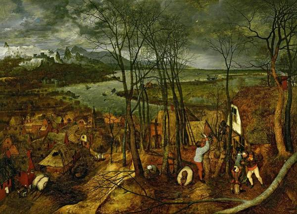 Wall Art - Photograph - The Gloomy Day - Spring, 1559 by Pieter the Elder Bruegel