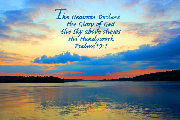 Photograph - The Glory Of God by Lorna R Mills DBA  Lorna Rogers Photography