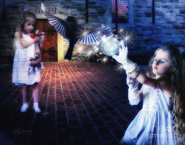 Best New Artist Digital Art - The Glove  The Girl And The Ghost by Warrena J Barnerd