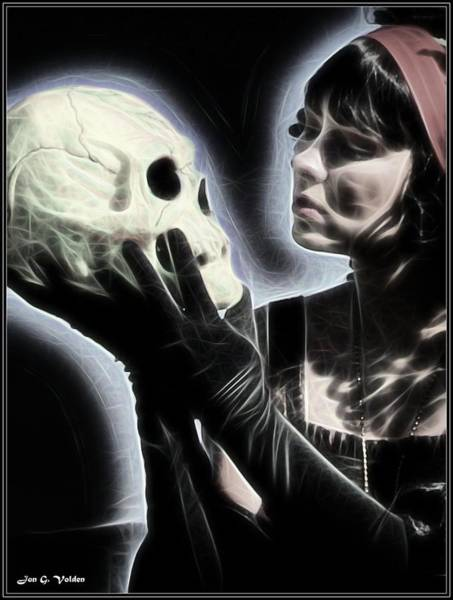 Painting - The Glow Of Death by Jon Volden