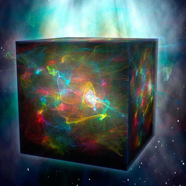 Digital Art - The God Box by Rick Wicker