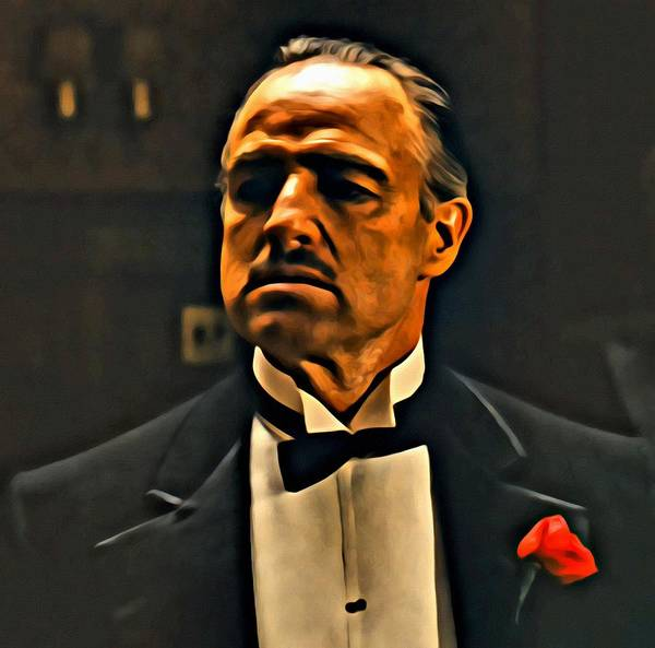 Painting - The Godfather by Florian Rodarte