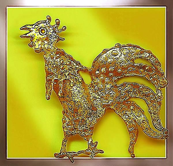 Jewelry - The  Golden  Bird by Hartmut Jager