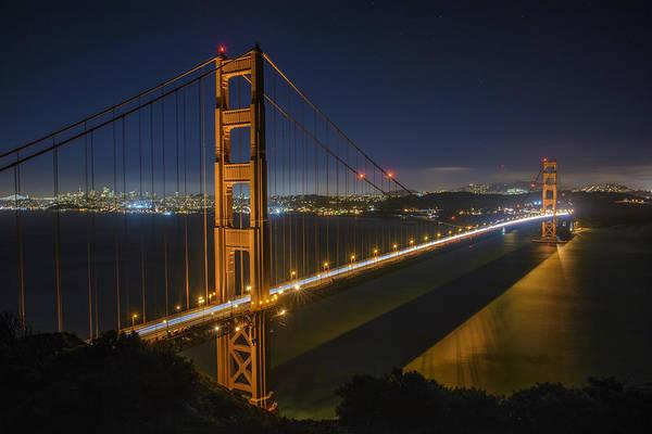 Photograph - The Golden Gate Bridge by Rick Berk