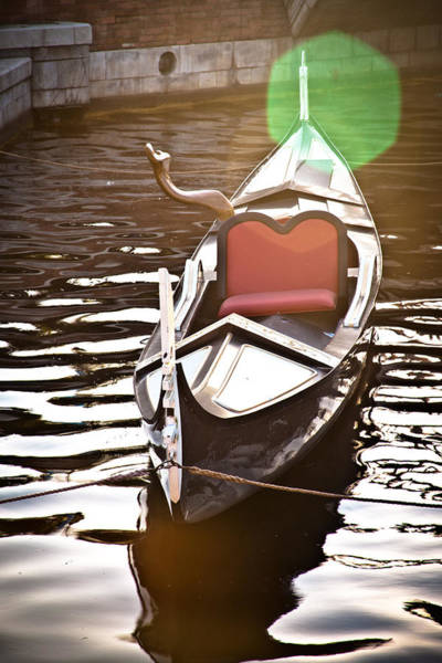 Photograph - The Gondola by Melinda Ledsome