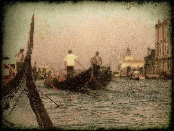 Photograph - The Gondoliers by Micki Findlay