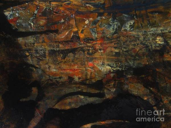 Buried Painting - The Good Earth  by Nancy Kane Chapman