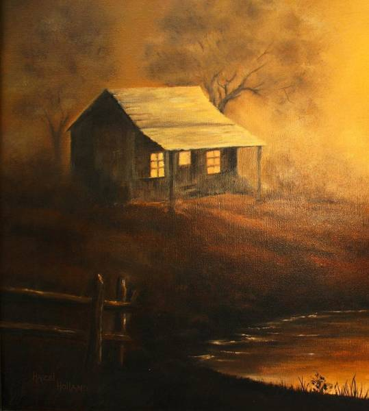 Wall Art - Painting - The Good Old Days by Hazel Holland