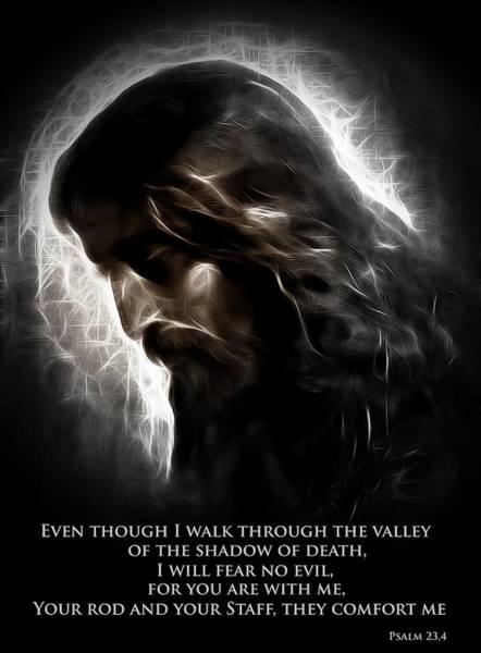 Death Valley Painting - The Good Shepherd by Steve K