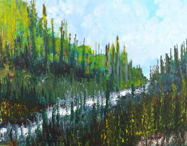 Wall Art - Painting - The Gorge by Rich Mason