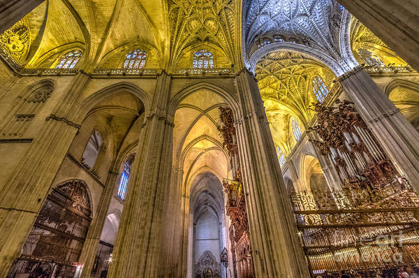 Catedral De Sevilla Wall Art - Photograph - The Gothic Cathedral In Sevilla by Michael Trahan