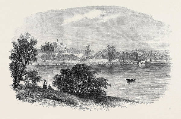New South Wales Drawing - The Government House Viewed From The Eastern Side by English School