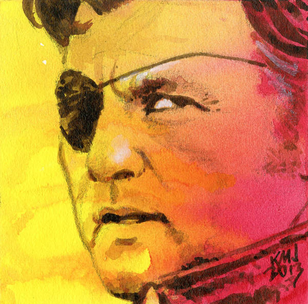 Wall Art - Painting - The Governor by Ken Meyer