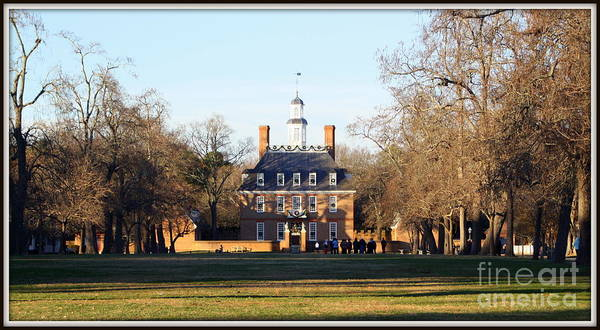 Photograph - The Governor's Palace by Patti Whitten