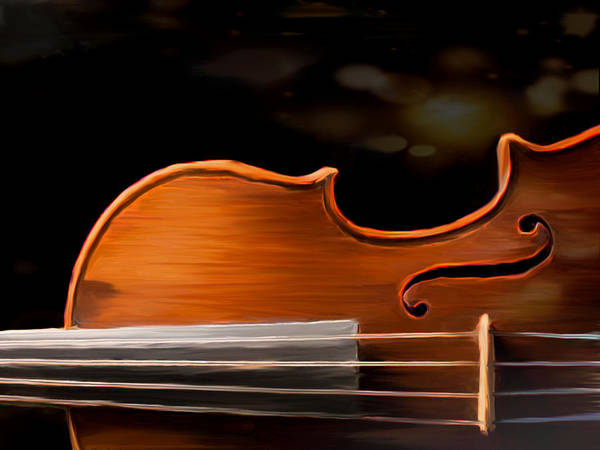 Painting - The Grain Of Musik by Dennis Buckman