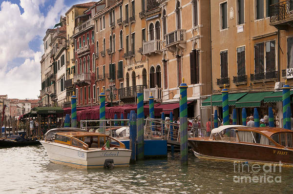 Lion Of St Mark Photograph - The Grand Canal by Brenda Kean