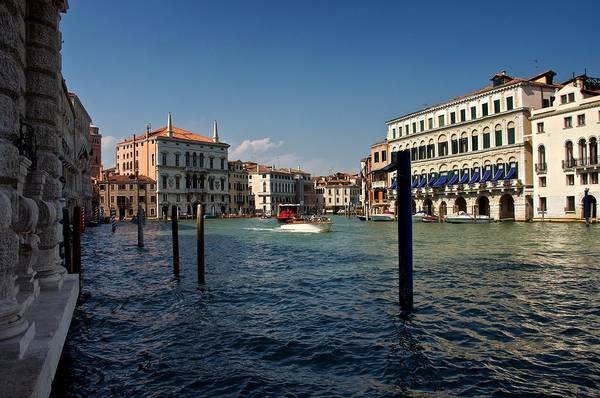 Photograph - The Grand Canal by Stephen Taylor