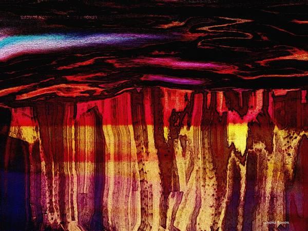 Canyon Mixed Media - The Grand Canyon by Lenore Senior