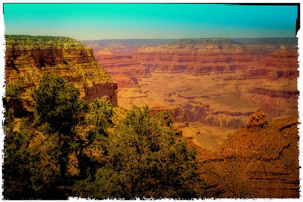 Photograph - The Grand Canyon Vintage Americana Vii by David Patterson