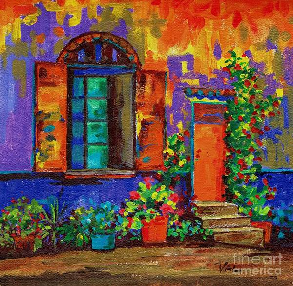 Painting - The Grand Entrance by Val Stokes