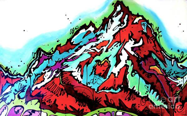 The Grand From Jackson Lake Art Print