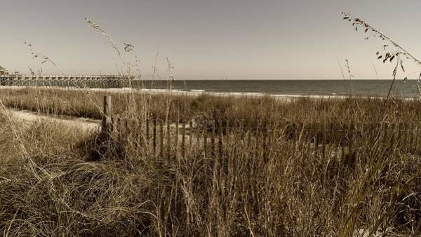 Photograph - The Grand Strand In Sepia by MM Anderson