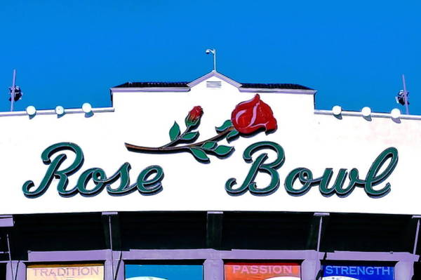 Rose Bowl Photograph - The Grandaddy Of Them All by Benjamin Yeager