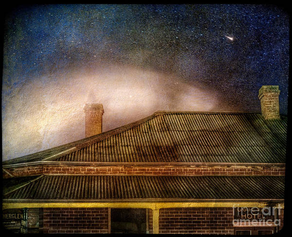 Photograph - The Grapevine Hotel by Russell Brown