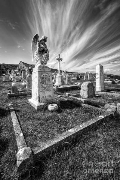 Grave Yard Photograph - The Graveyard by Adrian Evans