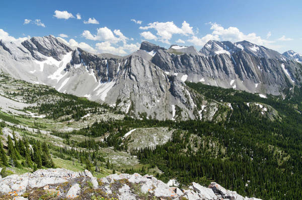 Continental Divide Photograph - The Great Divide by David Bennison