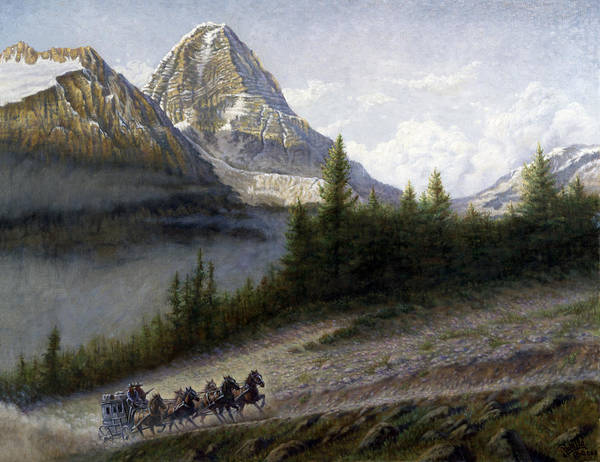 Forest Spirit Wall Art - Painting - The Great Divide by Gregory Perillo