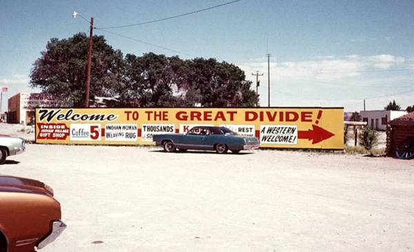 Photograph - The Great Divide by John Mathews