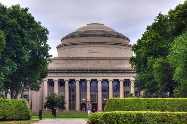 Photograph - The Great Dome - Mit by Joann Vitali