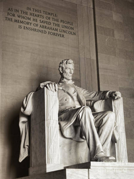 Commemorative Wall Art - Photograph - The Great Emancipator by Olivier Le Queinec
