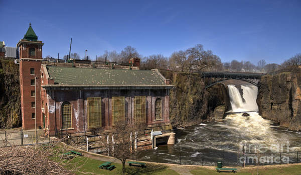 Photograph - The Great Falls In Paterson by Anthony Sacco
