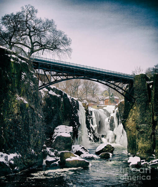 Photograph - The Great Falls Of Paterson by Mark Miller