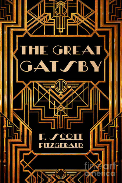 Front Digital Art - The Great Gatsby Book Cover Movie Poster Art 3 by Nishanth Gopinathan