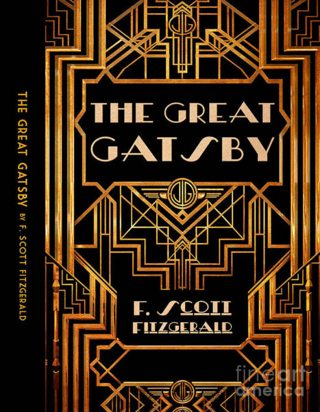 Front Room Digital Art - The Great Gatsby Book Cover Movie Poster Art 6 by Nishanth Gopinathan