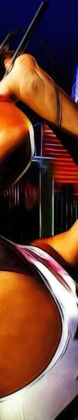 Progressive Rock Painting - The Great Pretender 3 by Steve K